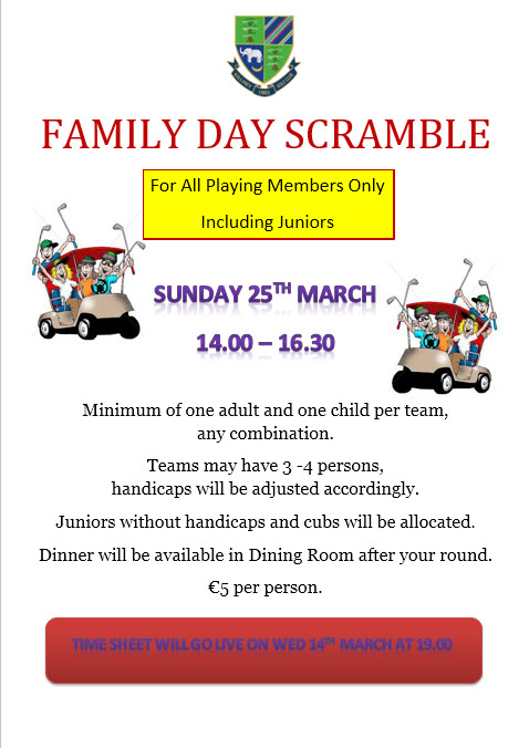 Family Day Scramble